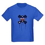 Australia Punk Skull Kids Dark T-Shirt