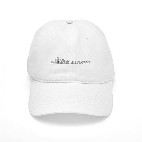 Detroit Skyline - Solid Cap