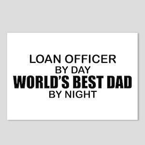 World's Best Dad - Loan Officer Postcards (Package