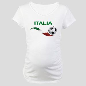 Soccer ITALIA Maternity T-Shirt