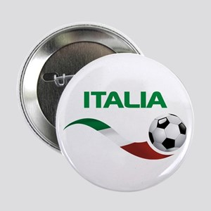 "Soccer ITALIA 2.25"" Button"