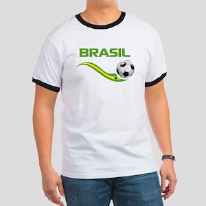 Soccer BRASIL Ringer T