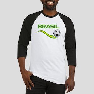 Soccer BRASIL Baseball Jersey