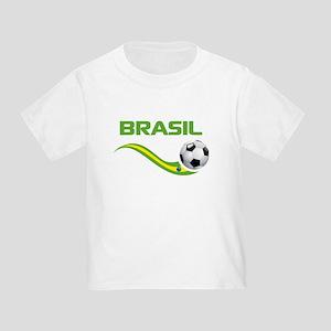 Soccer BRASIL Toddler T-Shirt