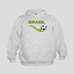 Soccer BRASIL Kids Hoodie
