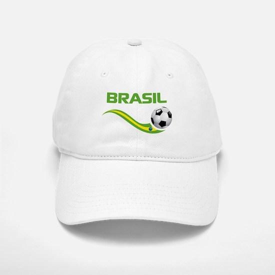 Soccer BRASIL Baseball Baseball Cap