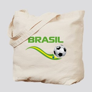 Soccer BRASIL Tote Bag