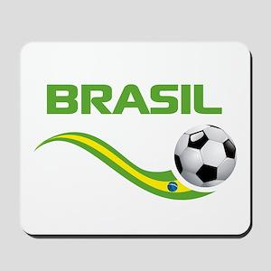 Soccer BRASIL Mousepad
