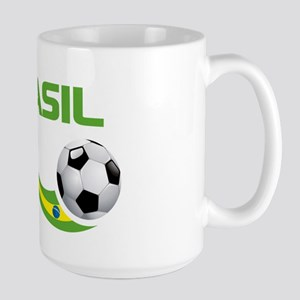Soccer BRASIL Large Mug