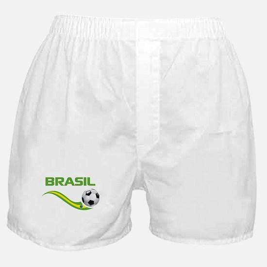 Soccer BRASIL Boxer Shorts