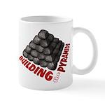 Building the Pyramids Mug