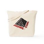 Building the Pyramids Tote Bag