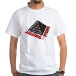 Building the Pyramids White T-Shirt