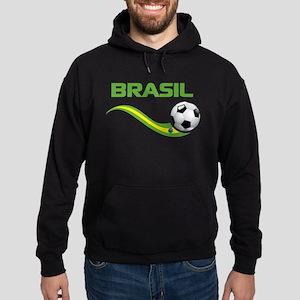 Soccer BRASIL Hoodie (dark)