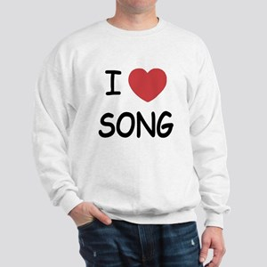 I heart song Sweatshirt