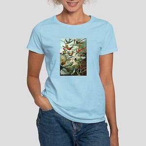Vintage Haeckel Hummingbirds Women's Light T-Shirt