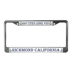 Bay Cities License Plate Frame