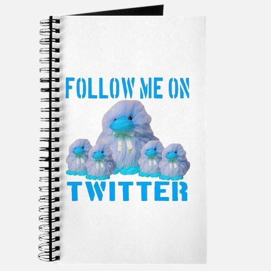Follow Me On Twitter Journal