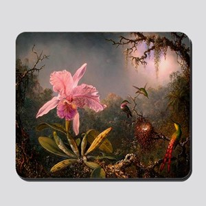 Victorian Orchid with Humming Mousepad