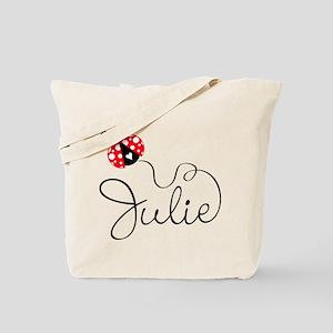 Ladybug Julie Tote Bag