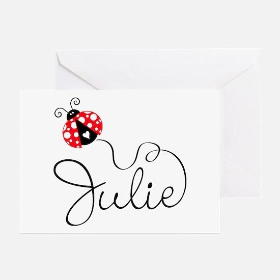 Ladybug Julie Greeting Cards (Pk of 20)