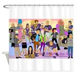 Lube Cast Shower Curtain