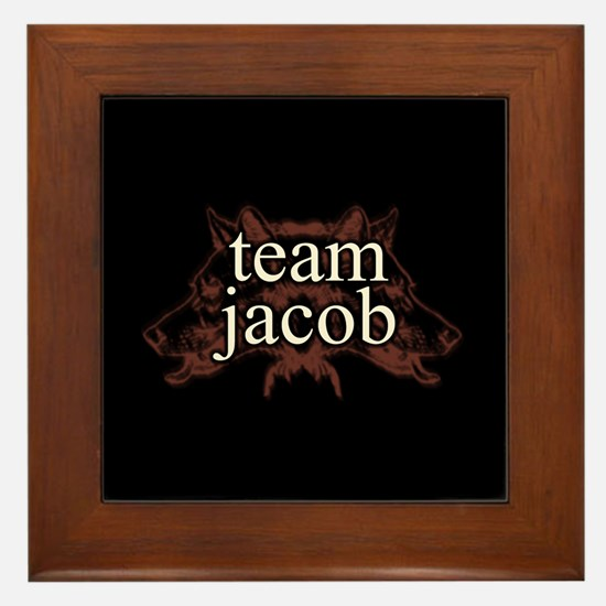 Team Jacob Shapeshifter Framed Tile