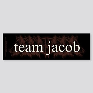 Team Jacob Shapeshifter Sticker (Bumper)