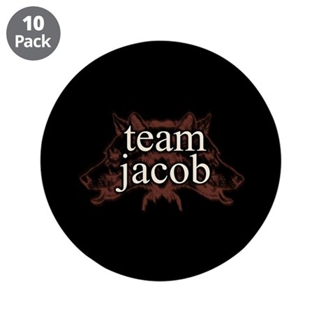 """Team Jacob Shapeshifter 3.5"""" Button (10 pack)"""