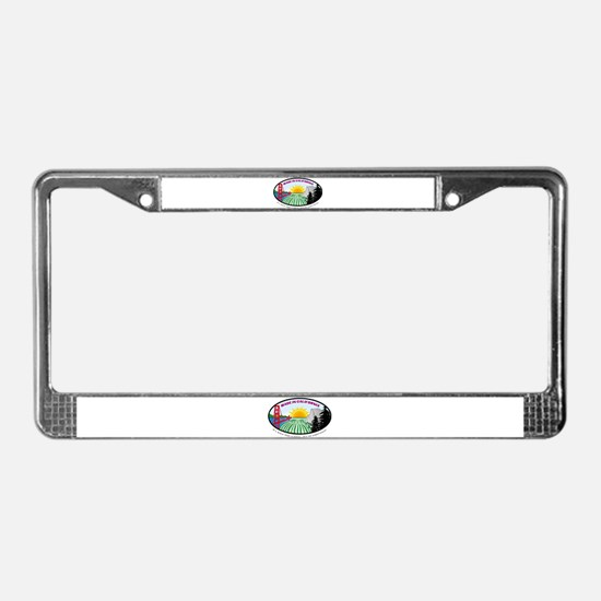 Unique Made california License Plate Frame