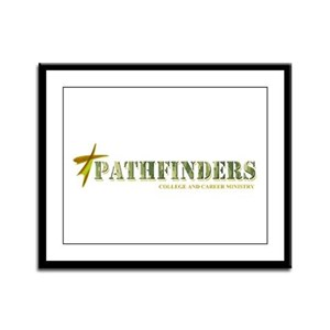 Pathfinders Framed Panel Print