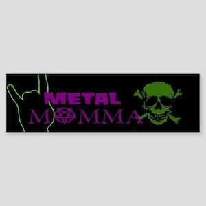 Metal Momma Sticker (Bumper)