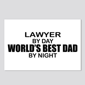 World's Best Dad - Lawyer Postcards (Package of 8)