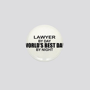World's Best Dad - Lawyer Mini Button