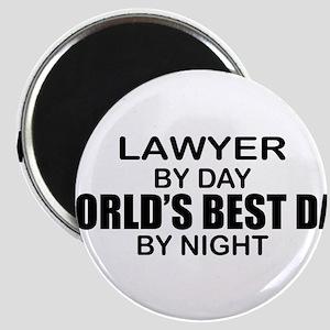 World's Best Dad - Lawyer Magnet