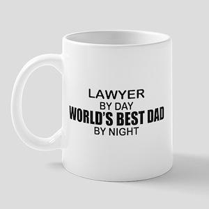World's Best Dad - Lawyer Mug