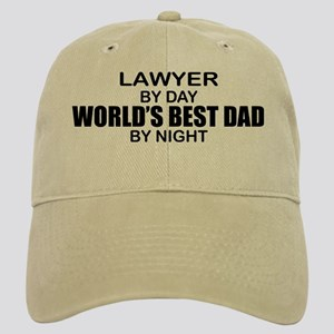 World's Best Dad - Lawyer Cap