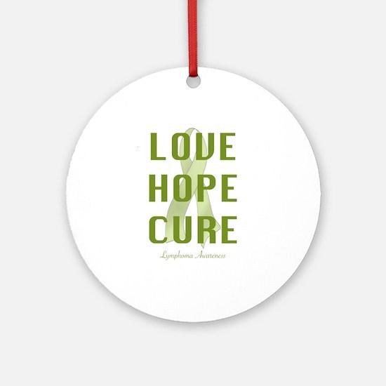 Lymphoma Awareness (lhc) Ornament (Round)