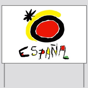 Spainish Soccer Yard Sign