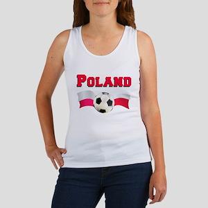 Poland Soccer Women's Tank Top