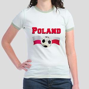 Poland Soccer Jr. Ringer T-Shirt