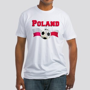 Poland Soccer Fitted T-Shirt
