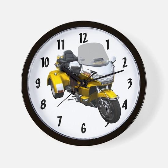 Cool Bikes Wall Clock