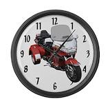 Trike Wall Clocks