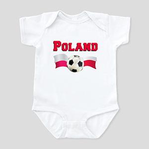 Little Polish Football Fan Infant Bodysuit