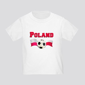 Little Polish Football Fan Toddler T-Shirt