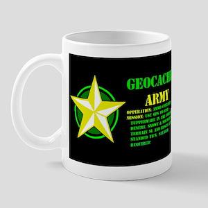 Geocache Army Mug