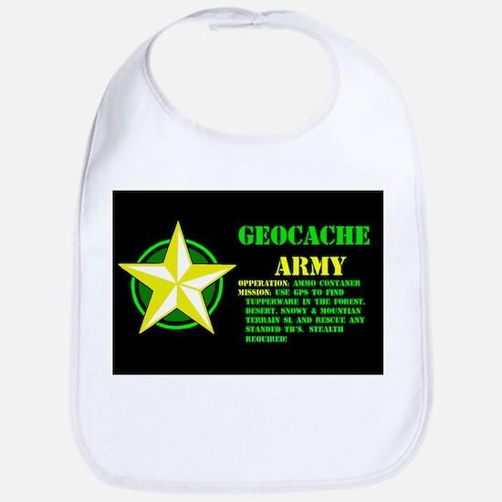 Geocache Army Bib