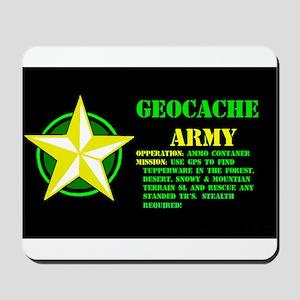 Geocache Army Mousepad