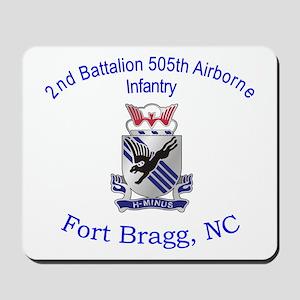 2nd Bn 505th ABN Mousepad